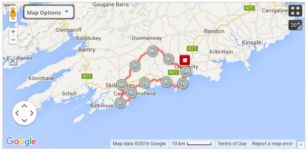 100k route