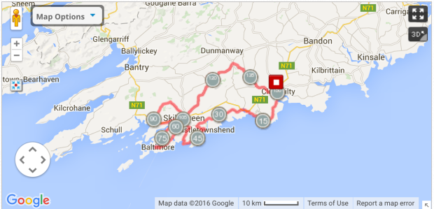 150k route